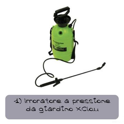 1 Irroratore a pressione da giardino