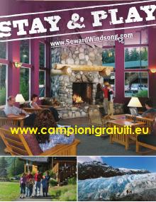 Brochure, guide turistiche e materiale informativo vario da Seward Windsong Lodge