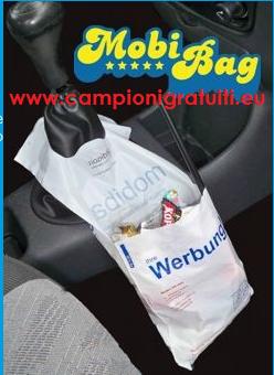Campione gratuito sacchetto per auto MobiBag