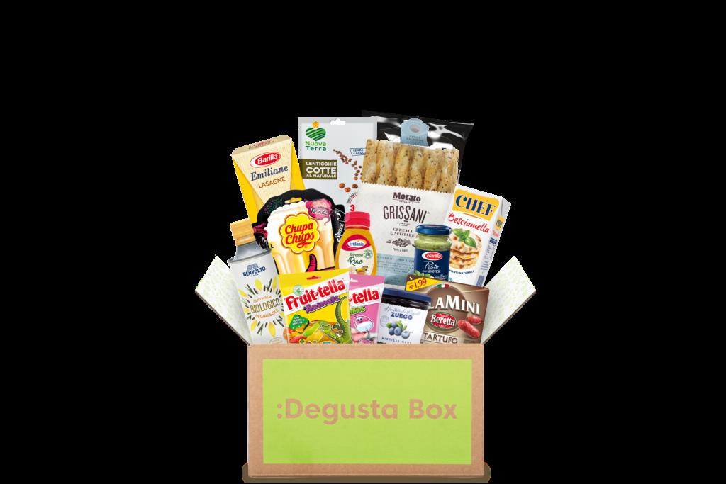 Degusta Box: ricevi anche tu la box con prodotti a sorpresa!
