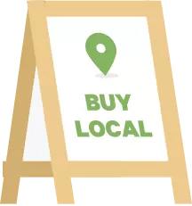 shop local killer web