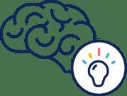 icona cervello brain