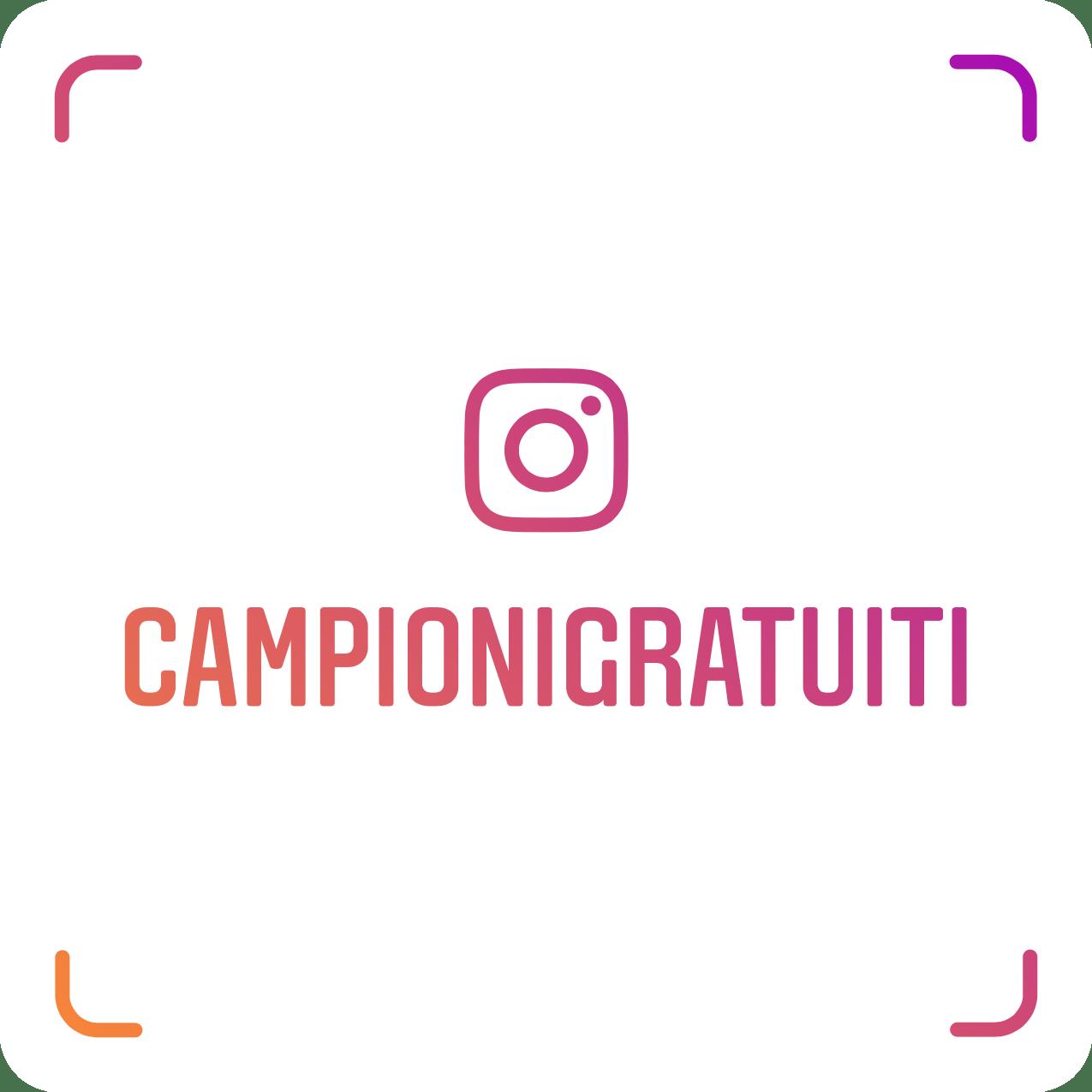 https://www.instagram.com/campionigratuiti/