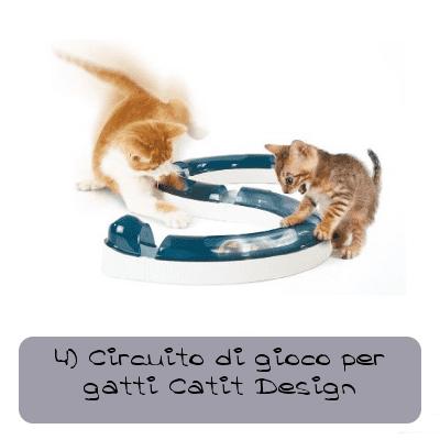 4 Circuito di gioco per gatti Catit desing
