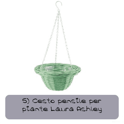 5 cesto pensile per piante bayern