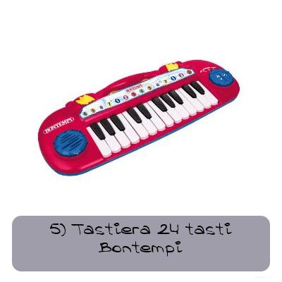 5 tastiera 24 tasti bontempi