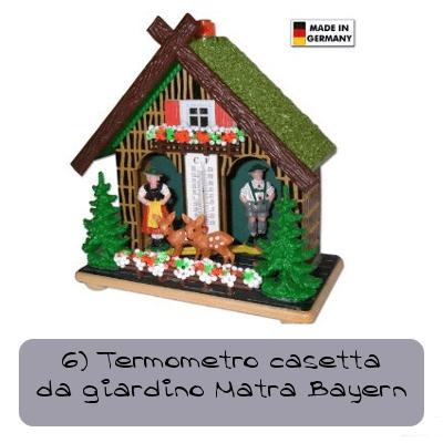 6 casetta termometro da giardino matra bayern