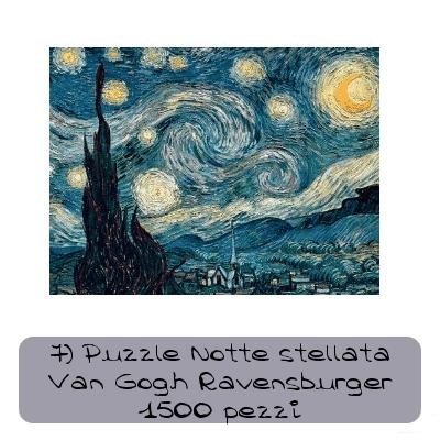 7 Puzzle Notte stellata Van Gogh Ravensburger 1500 pezzi 47227b948