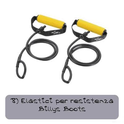 8 Elastici per resistenza billys boots 4805d1c71