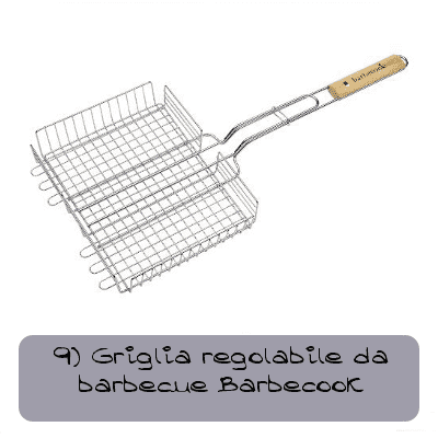 9 griglia regolabile da barbecue barbecook 40837c116