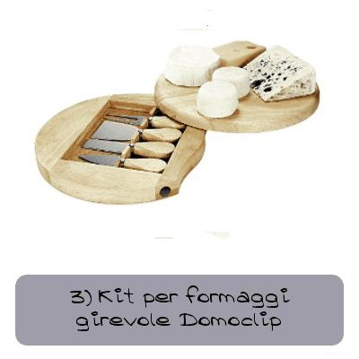 kit per formaggi girevole domoclip2