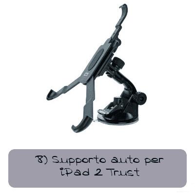 supporto auto per ipad 2 trust